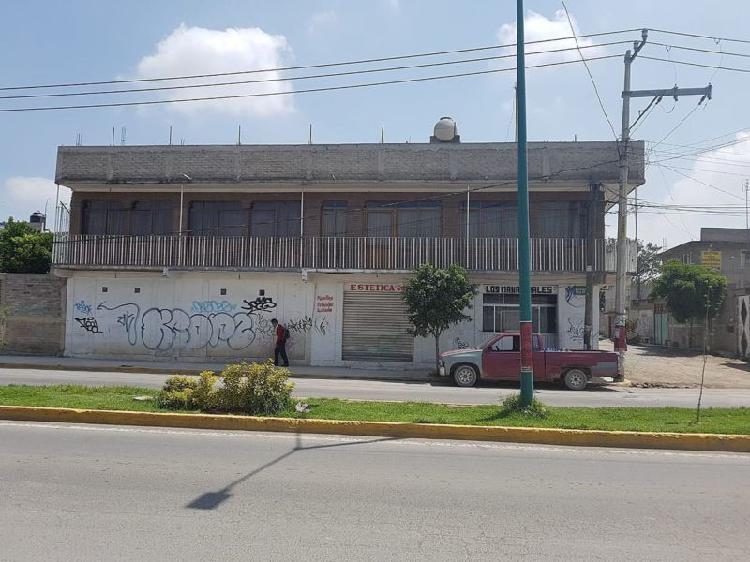 Casa con locales dos niveles chimalhuacan