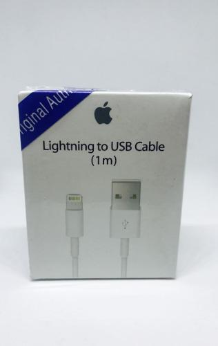 Cable cargador original apple lightning usb iphone 5 6 7 8 x