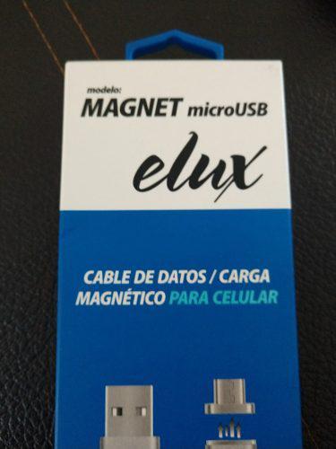 Cable magnético de datos y carga iphone y micro usb