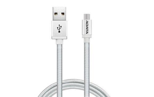 Cable reforzado micro usb v8 adata quick charge 2.4a tejido