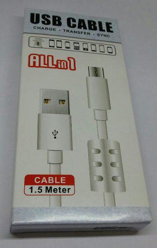 Cable usb a v8 con regulador de voltaje 32666