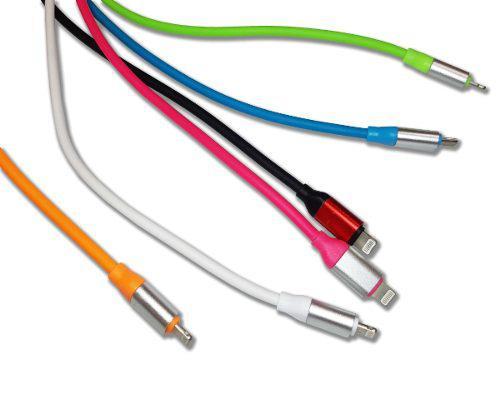 Cable usb macho a lightning iphone macho 2 metros