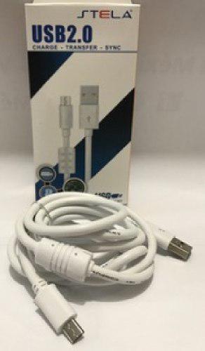 Cable usb v8 carga rapida uso rudo android stela fltro