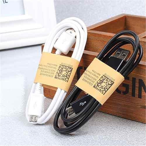 Paquete con 100 cables micro usb v8 cargador celular tablet