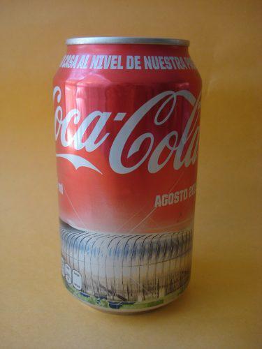 Coca cola lata conmemorativa estadio monterrey 2015