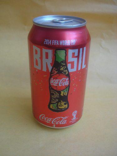 Lata coca cola edicion brasil 2014 de coleccion cerrada