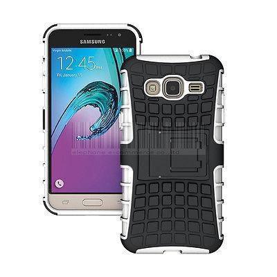 Samsung galaxy amp prime - white - goma a prueba de cho-6899