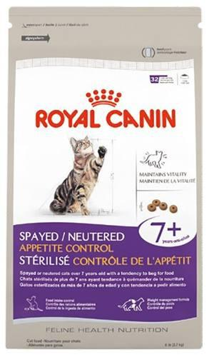 Alimento gatos mayores appetite control 2.7 kg royal canin
