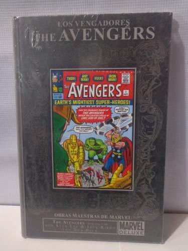 Avengers obras maestras marvel deluxe pasta dura