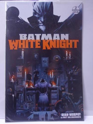 Batman white knight vol.2 dc semanal televisa 2018