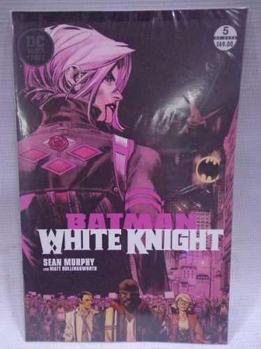 Batman white knight vol.5 dc semanal televisa 2018