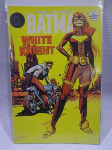 Batman white knight vol.6 variante dc semanal televisa 2018