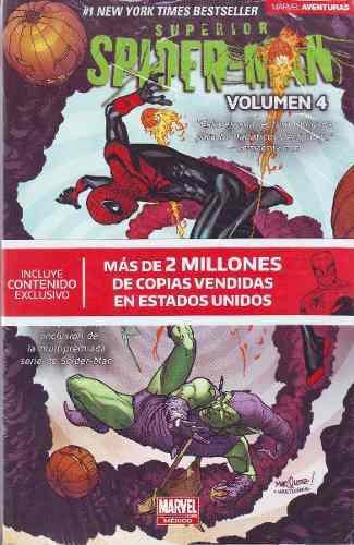 Comic marvel aventuras superior spiderman tomo 4 español