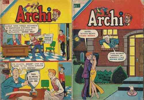 Comics archi editorial novaro archie colección + pilones