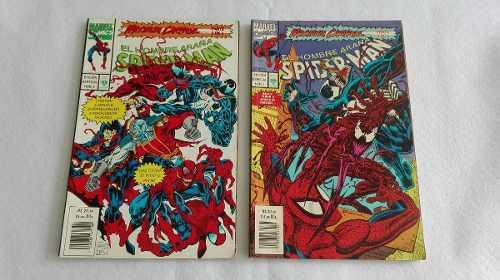 Comics el hombre araña maximum carnage edit. vid 1993