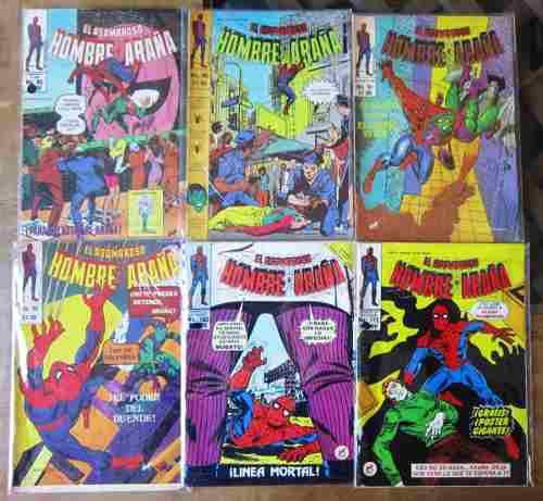 El asombroso hombre araña ed. novedades 41 revistas 80´s