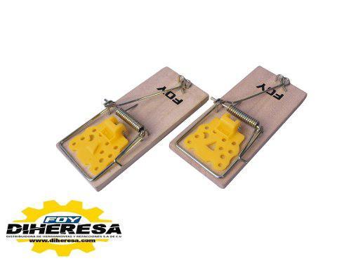 Foy 144460 trampa para ratón 4, 2 piezas