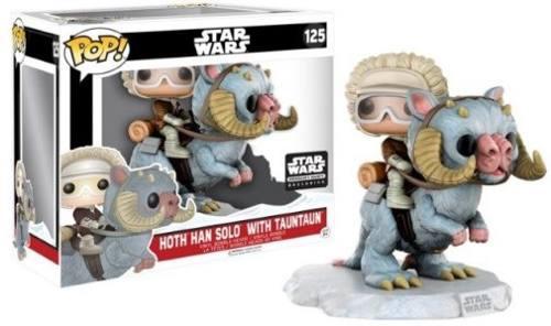 Funko pop han solo with tauntaun exclusivo smuggler's bounty