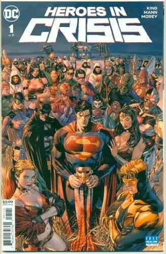 Heroes in crisis 1 dc comics batman superman harley quinn