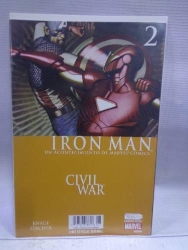 Iron man vol.2 civil war marvel semanal televisa 2007