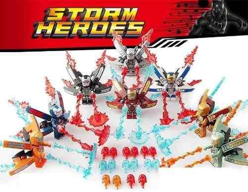 Ironman lego compatibles infinity war 8fig ¡envio gratis!