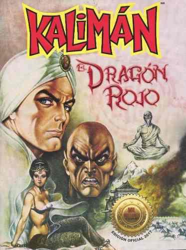 Kaliman, el dragón rojo cómic edición especial.