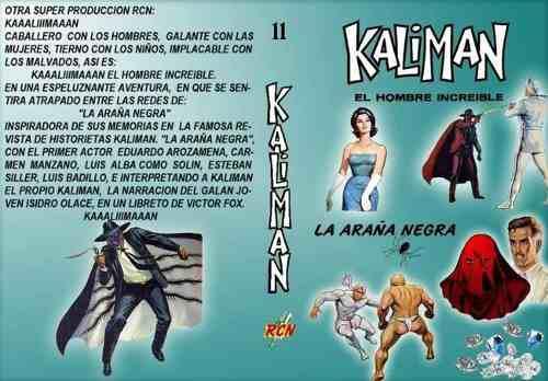 Kaliman la araña negra: la radionovela. envío grátis