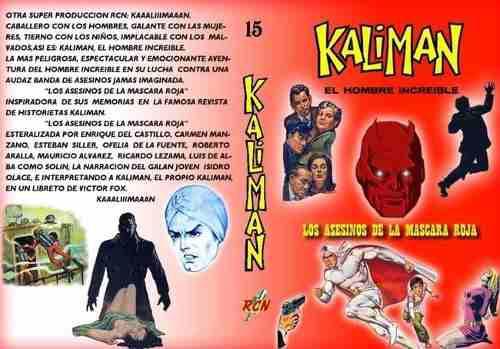 Kaliman los asesinos de la máscara roja: la radionovela