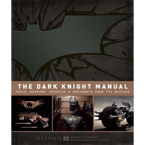 Libro batman the dark knight manual - de coleccion dc *int