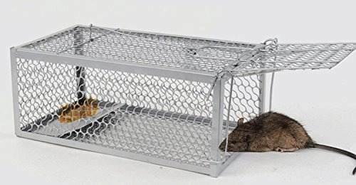 Life987 1 puerta trampa para roedores trampa de animales...