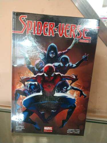 Marvel comics spider verse vol. 1 español nuevo envío