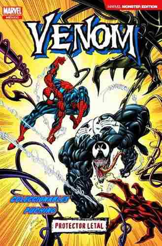 Marvel comics venom protector letal monster variante spider