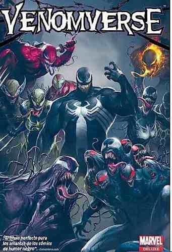 Marvel comics, venom: venomverse, deluxe, español, nuevo