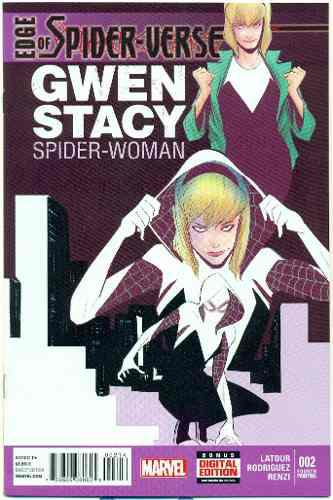 Spider-verse 2 marvel comics primera spider gwen 4ta imp