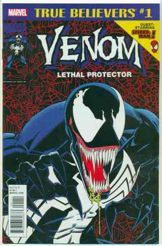 Venom lethal protector 1 spiderman marvel comics