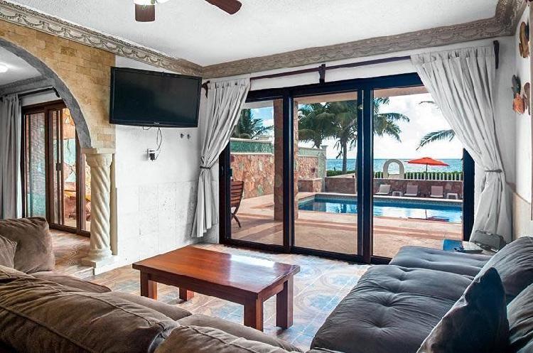 Casa frente al mar, riviera maya
