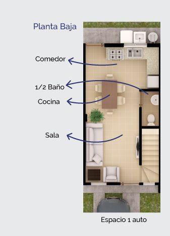 Casa en venta en madeira residencial, tijuana b.c.