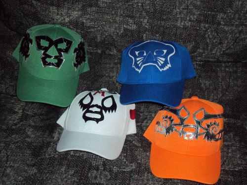 Lote de 5 gorras de mascara de luchador 7a48f3480db
