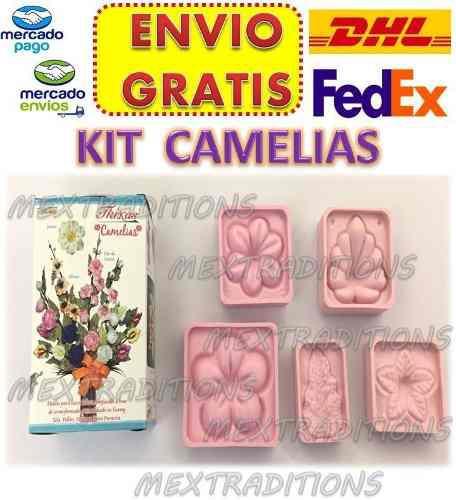 Moldes Flores Foamy Fomy Fomi Flor Kit Camelias Termoformado En