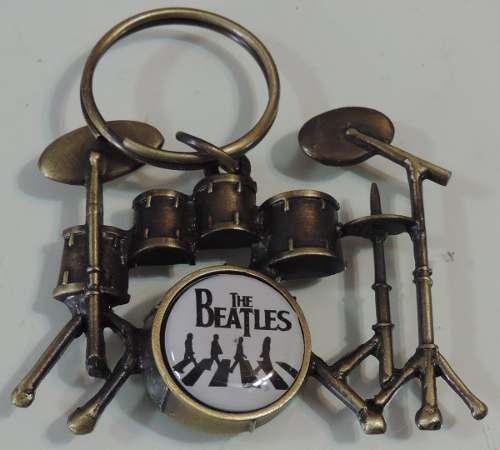 The Beatles Llavero Mod. Drums Envio Gratis Heavy Ace70