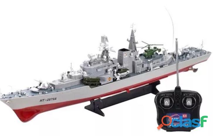 Barco de guerra de control remoto