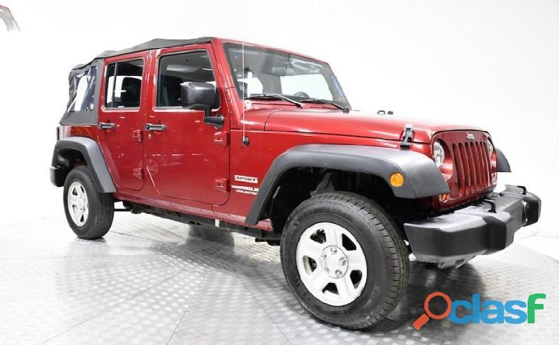 Jeep wrangler unlimited 2013 rojo automatico