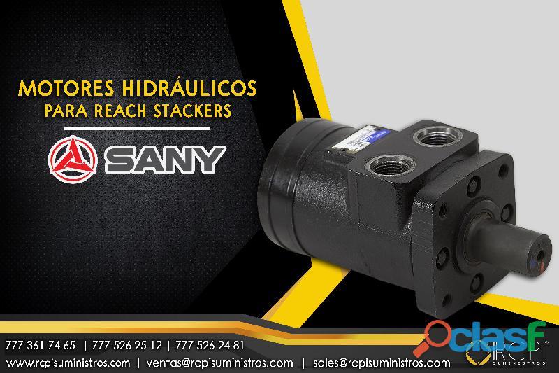 Motor hidráulicos para reach stacker Sany