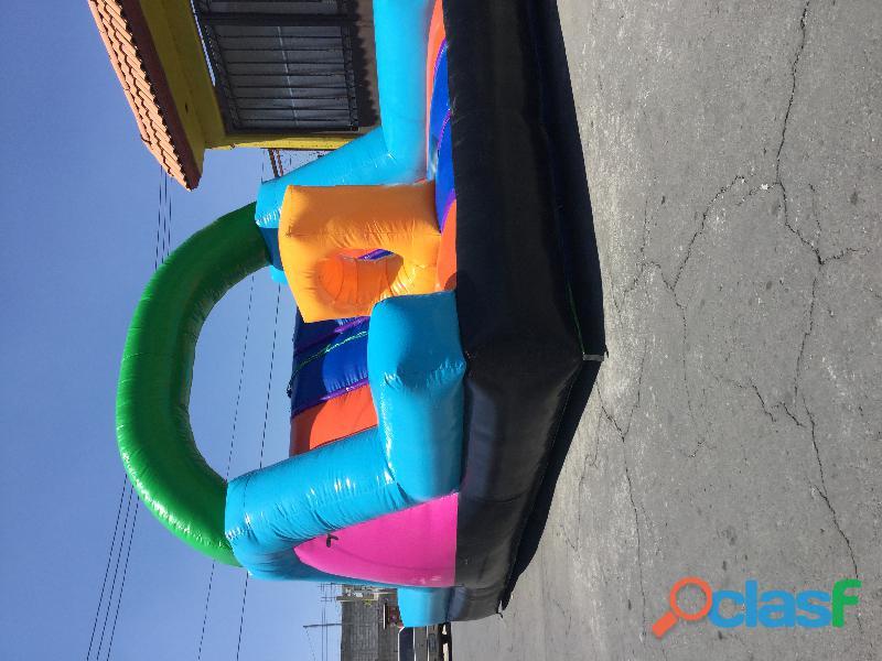 Renta inflable, trampolin y futbolito