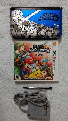 Nintendo 3d xl edicion super smash bros oportunidad..!!