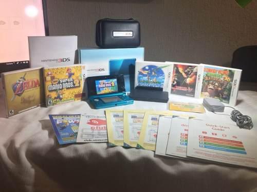 Nintendo 3ds incluye los 5 mejores juegos para esta consola!
