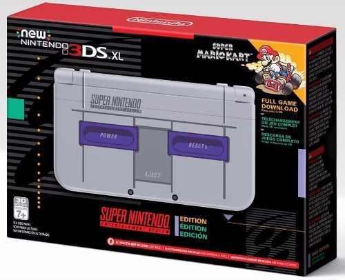 Nintendo 3ds xl edicion super nes