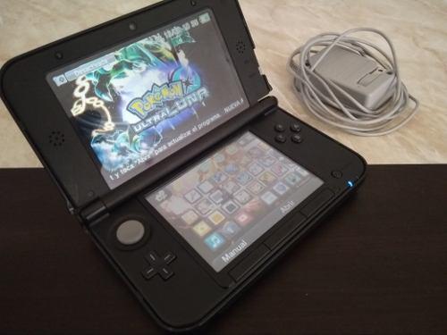 Nintendo 3ds xl negro 32gb juegos precargados