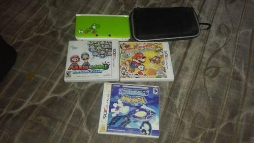 NINTENDO 3DS XL VERSIÓN YOSHI segunda mano  México (Todas las ciudades)