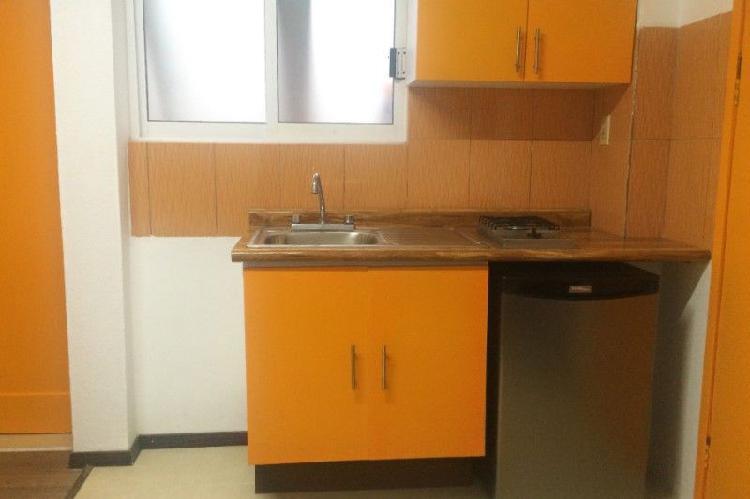 Mini departamento tipo suite o loft con servicios incluidos